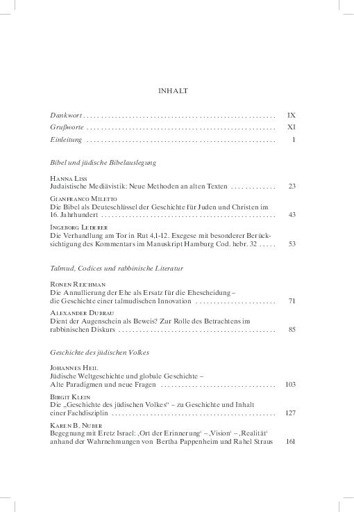 c73dfd2b017db PDF) Jüdische Studien als Disziplin – die Disziplinen der Jüdischen ...