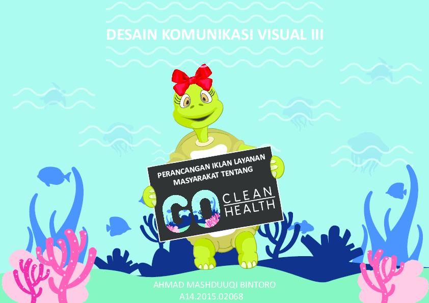 Pdf Perancangan Ilm Tentang Go Clean Go Health Ahmad
