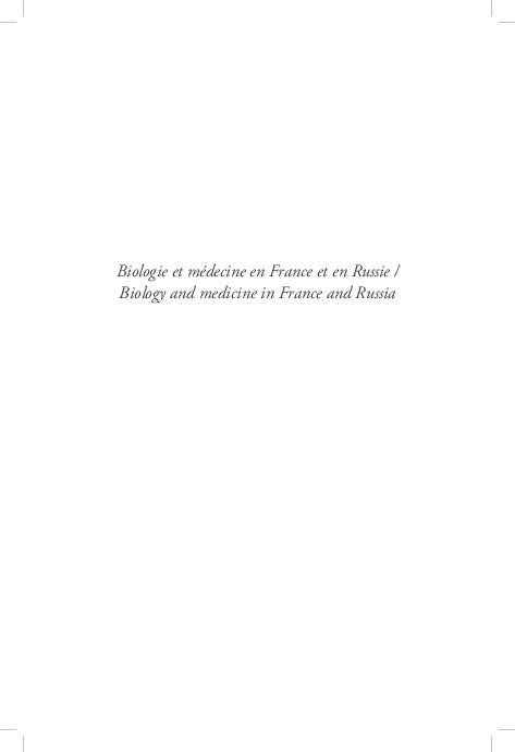 PDF) Biologie-et-medicine-en-France-et-en-Russie (1).pdf | Eduard ...