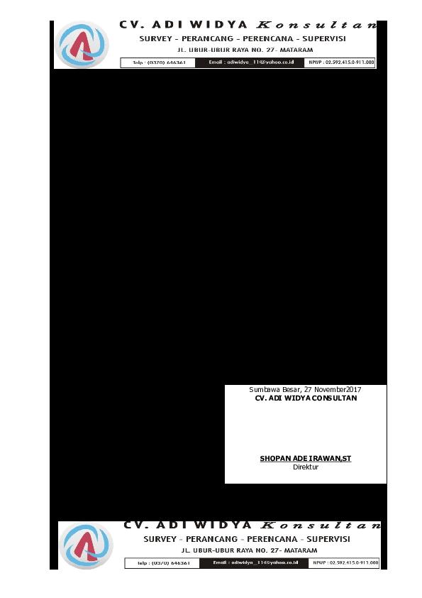 Doc Surat Permohonan Pembayaran Termin 1 Zainal Inal