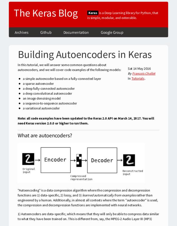 PDF) Building Autoencoders in Keras | Thang Do - Academia edu