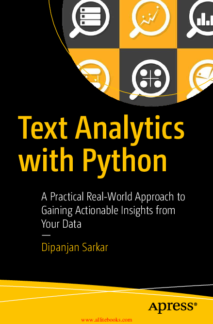 PDF) Text Analytics with Python A Practical Real-World Approach to