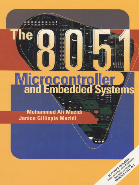 PDF) the 8051 microcontroller and embedded systems using assembly