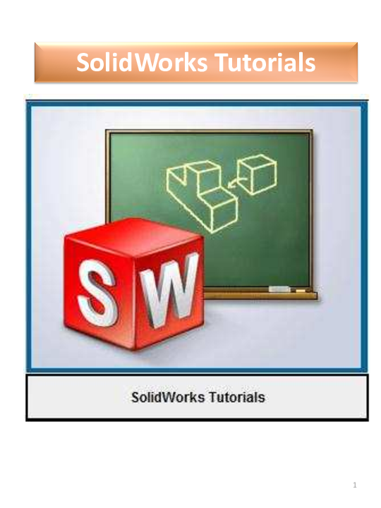 PDF) SolidWorks Tutorials | hery hardy - Academia edu