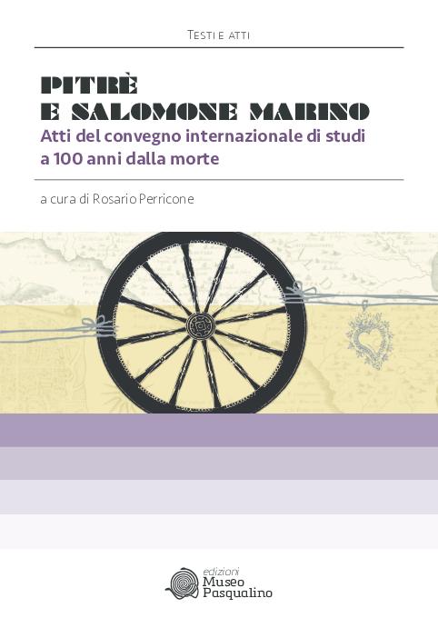 Poesie Di Natale In Dialetto Siciliano.Pdf Canti Di Passione Nel Palermitano Pitre Salomone Marino E La