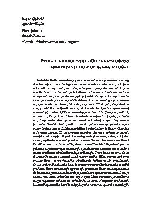 Absolutno datiranje bronaste in železne dobe na Slovenskem.