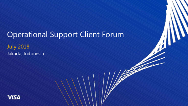 PDF) Operational Support Client Forum | Nadiawaty Faisal