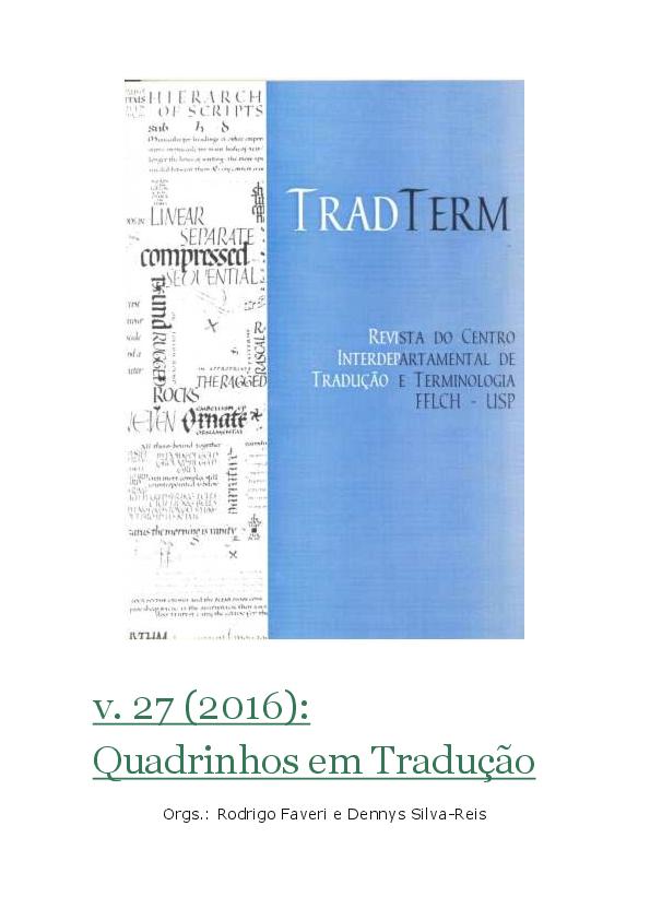 a89890976 PDF)   TradTerm v. 27   Quadrinhos em Tradução.pdf