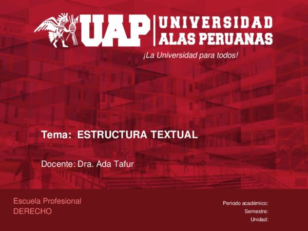 Ppt Uap Análisis E Interpretación De Textos Renán Noriega