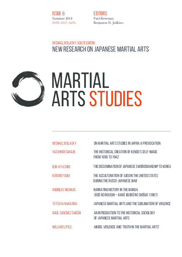 PDF) New Research on Japanese Martial Arts, Martial Arts Studies