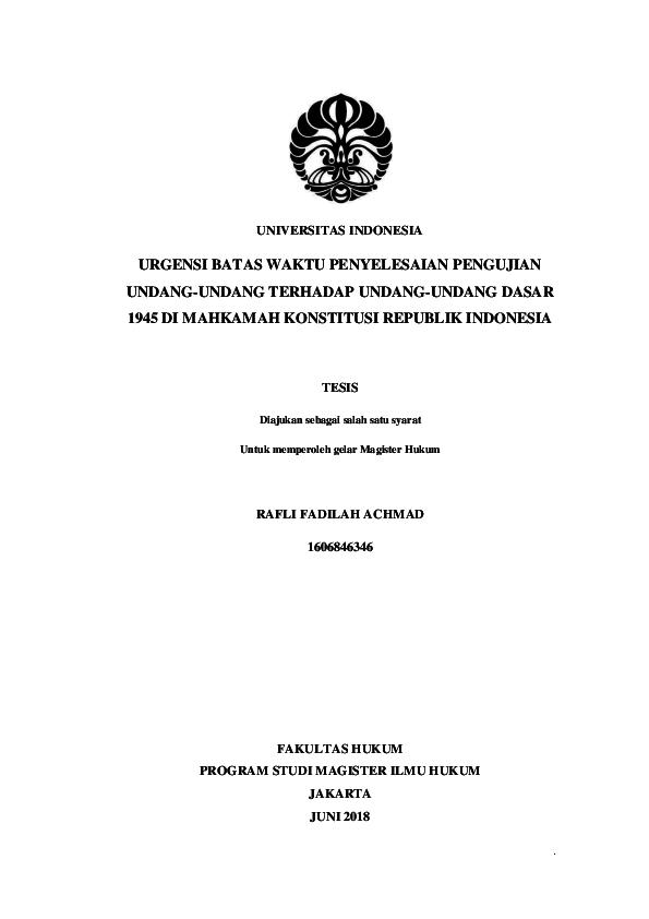 Contoh Tesis Fakultas Hukum Contoh Soal Dan Materi Pelajaran 7