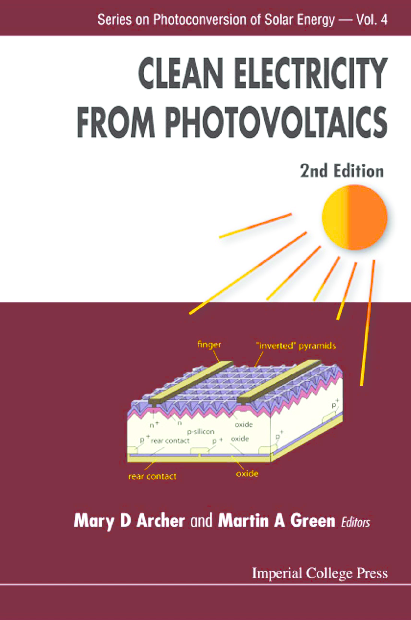 PDF) Clean-Electricity-from-Photovoltaics-2nd-Edition- pdf