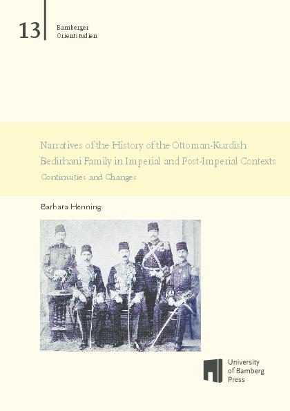 PDF) Narratives of the History of the Ottoman-Kurdish Bedirhani
