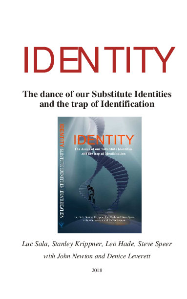 Pdf Identity The Dance Of Our Substitute Identities And The Trap Of Identification Luc Sala Academia Edu