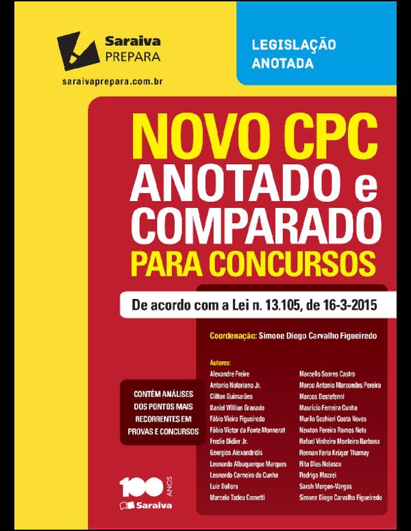 Codigo processo civil comparado novo pdf de