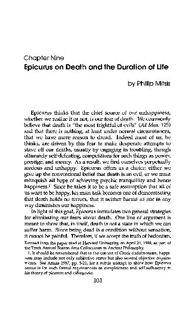 The Essential Epicurus Pdf