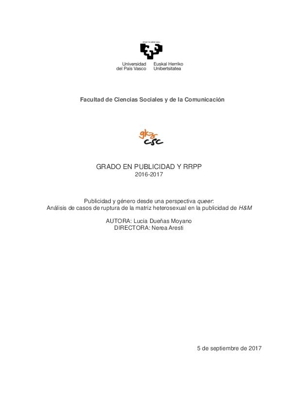 8ff51ef33 PDF) Publicidad y género desde una perspectiva queer  Análisis de ...
