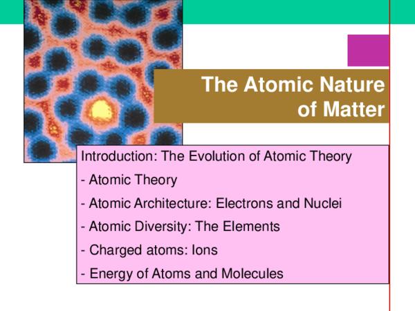 PPT) Atomic   utik maulida - Academia edu