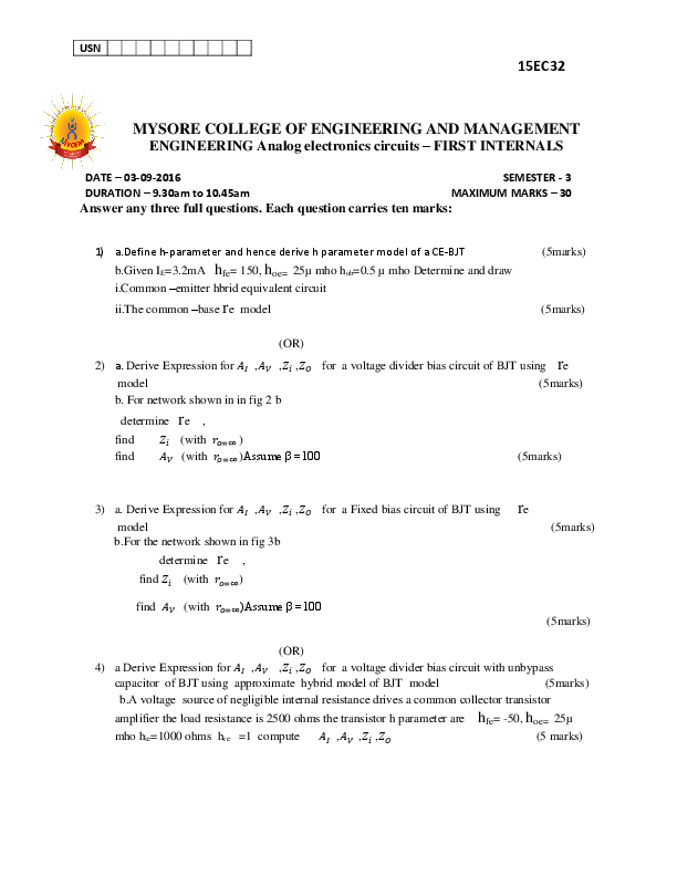 DOC) DUPLICATE QP   Roopa Shree - Academia edu