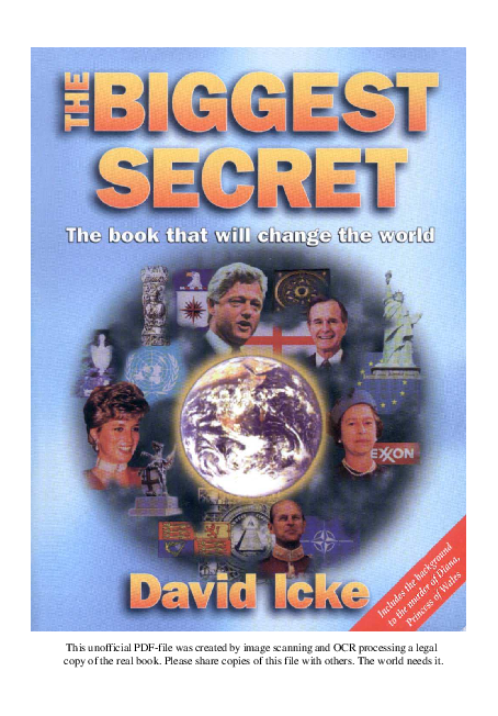 PDF) [EN] - David Icke - The Biggest Secret | David Vanderper