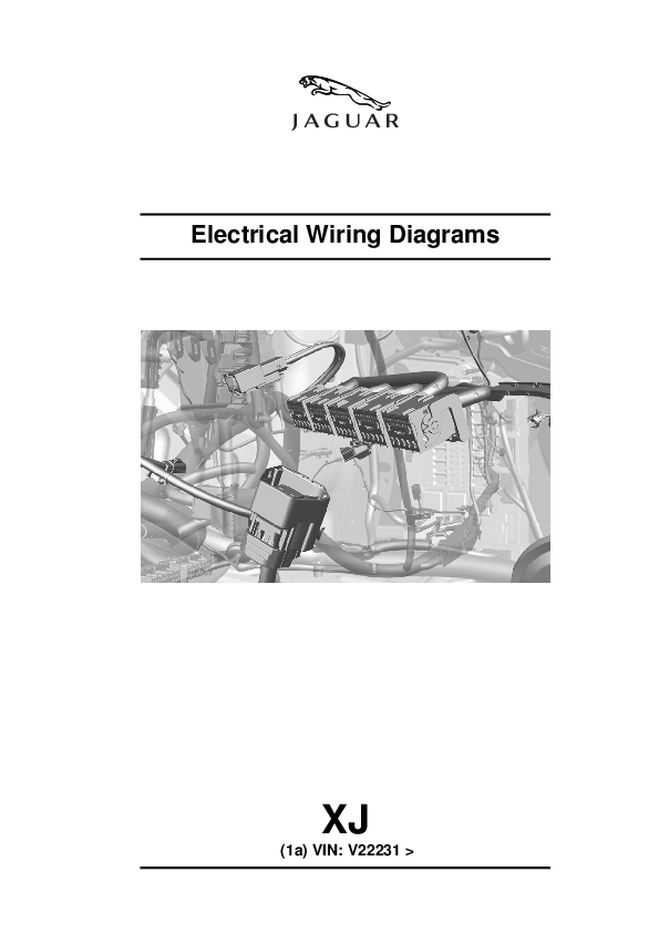 PDF) Electrical Wiring Diagrams XJ (1a) VIN: V22231 | Jorge ... on jaguar xj6 brakes, jaguar xj6 headlights, jaguar xj6 alternator wiring, 1998 jeep cherokee wiring diagram, jaguar radio wiring diagrams, 1986 dodge d150 engine wiring diagram, jaguar xj6 automatic transmission, jaguar xjs wiring-diagram, jaguar xj6 repair manual, jaguar xj6 wiring harness, jaguar xj6 ignition,