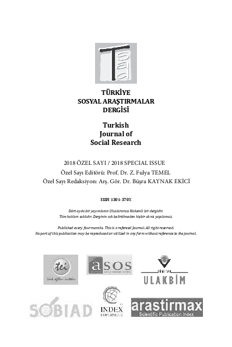 Pdf Turkish Journal Of Social Research Investigation Of The