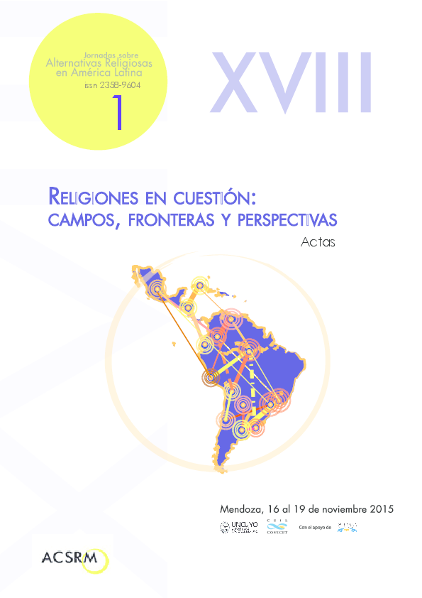 0fe2bfb0df8 Actas Jornadas sobre Alternativas Religiosas en América Latina