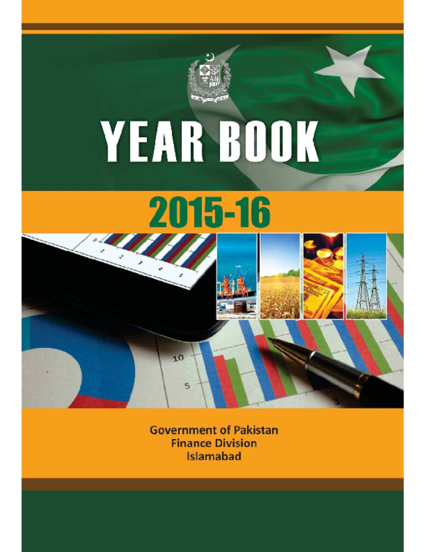 PDF) Government of Pakistan Finance Division Year Book 2015