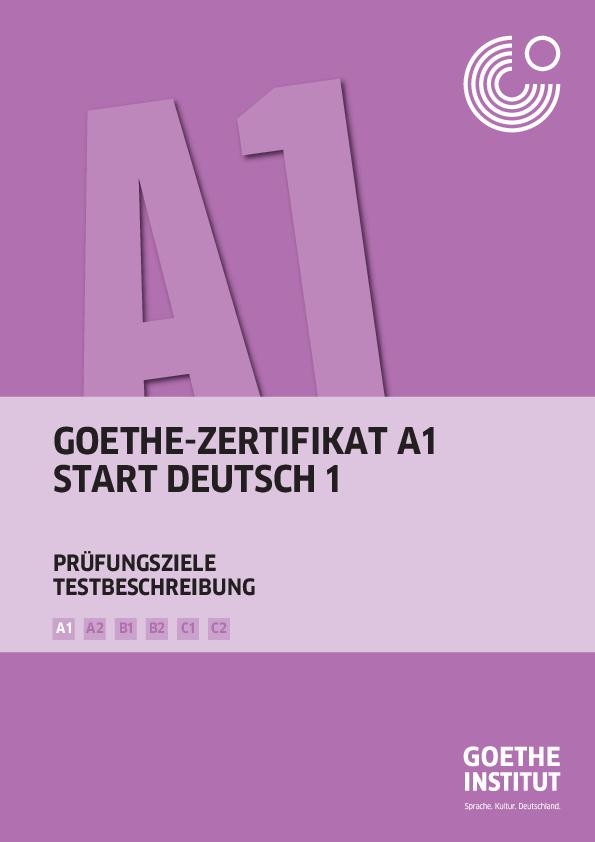 Pdf Goethe Zertifikat A1 Start Deutsch 1 Prüfungsziele