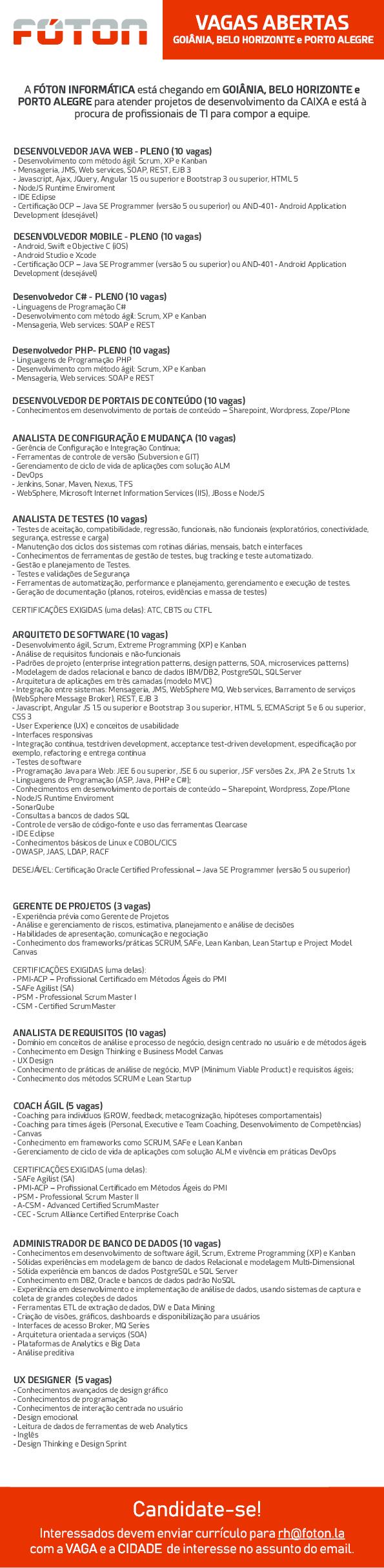 PDF) DESENVOLVEDOR JAVA WEB -PLENO (10 vagas   Rafael Silva