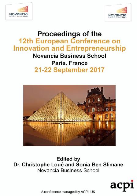 PDF) Entrepreneurial Intent of Prospective Graduates in Sultanate of