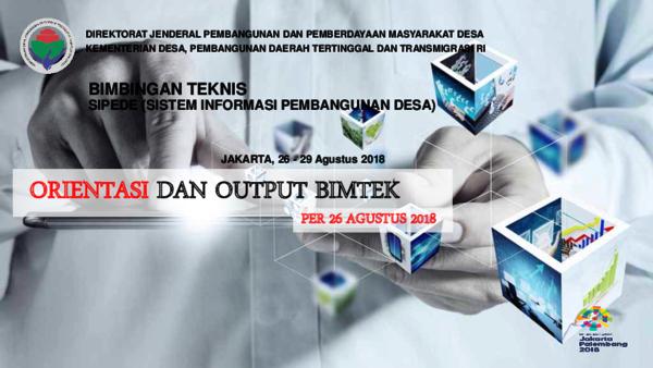 PDF) Orientasi dan Output Kegiatan BIMTEK | Kapuas Kabupaten
