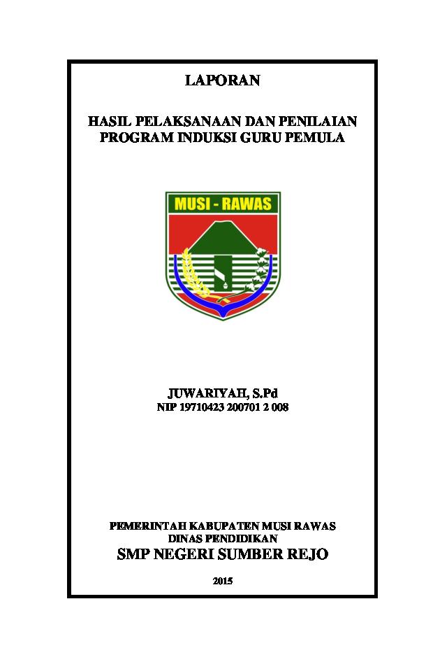 Program Induksi Guru Pemula Pigp Dr Lugtyastyono Bn M Pd