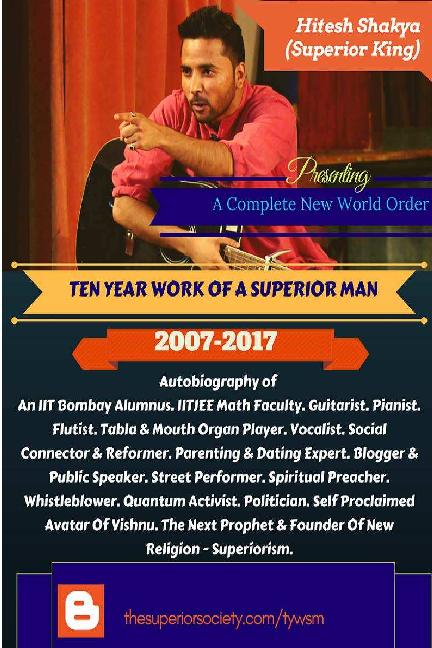 PDF) Ten year work of a superior man   GARVIT
