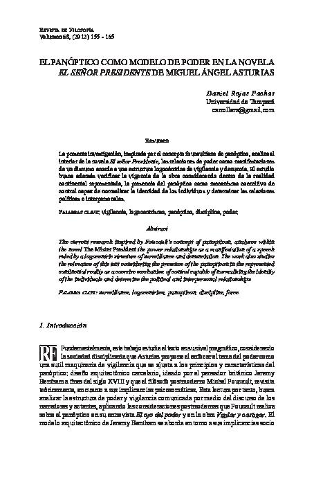 Foucault Panoptico Vigilar Y Castigar Pdf