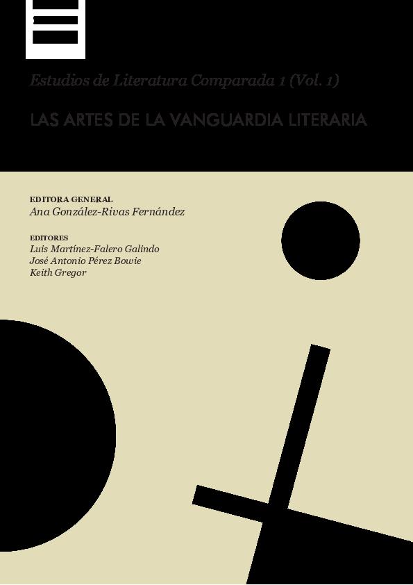 6c57abecdaa PDF) LAS ARTES DE LA VANGUARDIA LITERARIA (editora general) | Luis ...