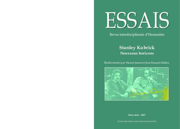 best service 7ef46 3e959 PDF) Stanley Kubrick Nouveaux horizons, Essais. Revue ...