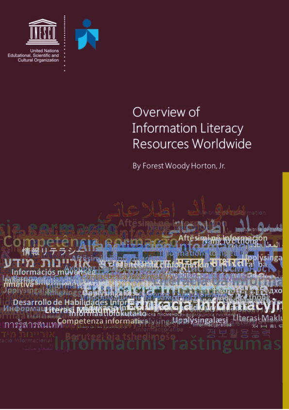 Pdf List Of Selected Information Literacy Resources Available In