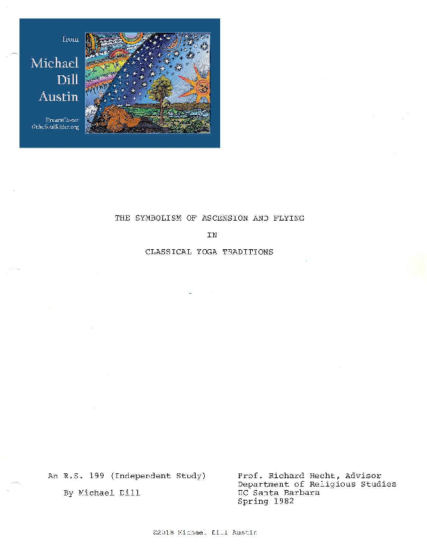 PDF) The Symbolism of Ascension and Flying in Classical Yoga