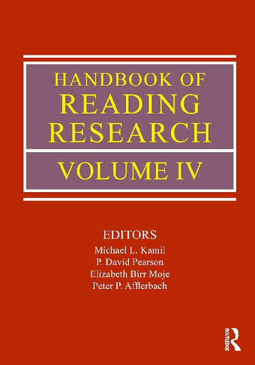 PDF) Handbook of Reading Research - IV. Kamil. Pearson. 2011.pdf ...