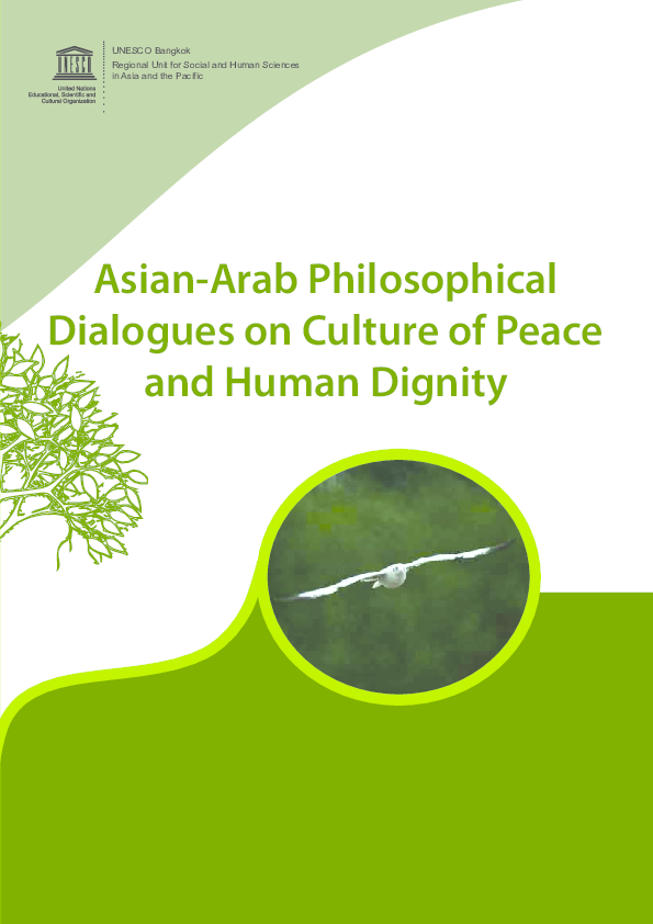 PDF) Asian-Arab Philosophical Dialogues on Culture of Peace and