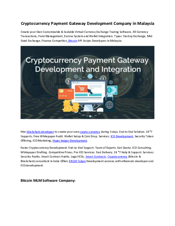 how to create your own cryptocurrency pdf
