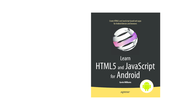 Learn Html5 And Javascript For Android Pdf
