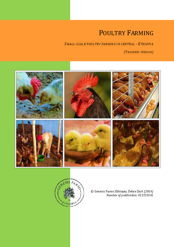 PDF) POULTRY FARMING SMALL-SCALE POULTRY FARMING IN CENTRAL