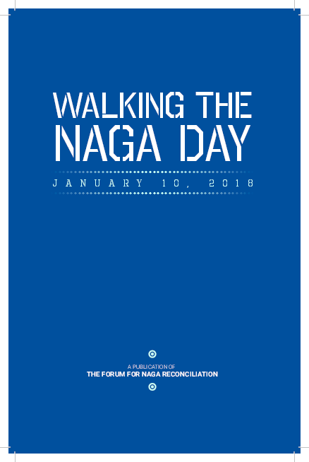 PDF) Walking the Naga Day - THE FORUM FOR NAGA RECONCILIATION