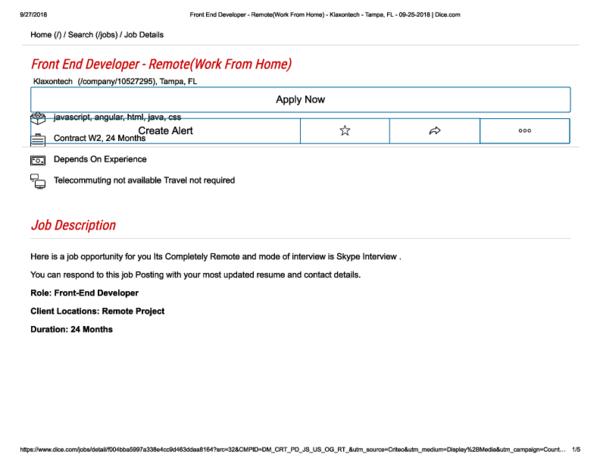 PDF) Front End Devloper Remote pdf | thomas mcclure