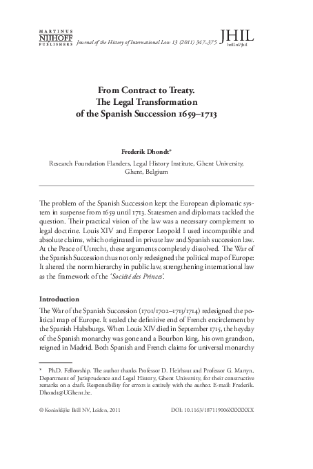 foto de PDF) From Contract to Treaty: the Legal Transformation of the ...