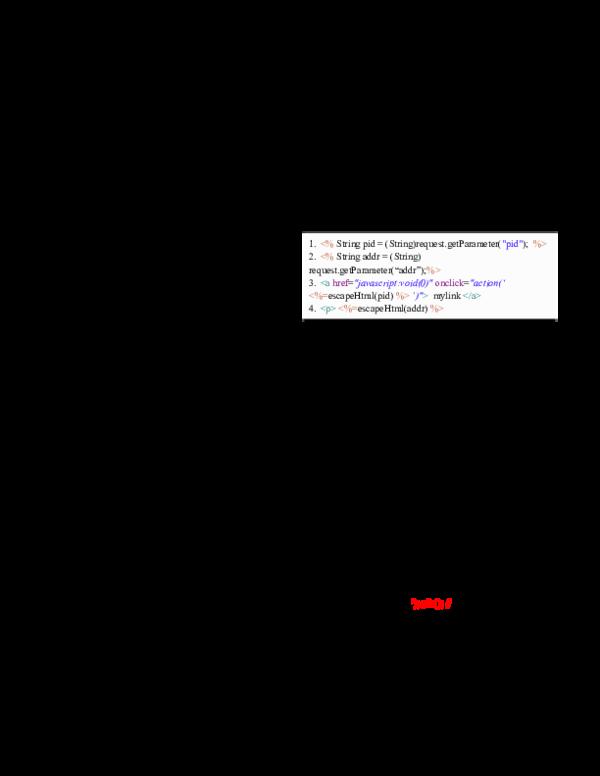 PDF) Detecting Cross-Site Scripting Vulnerabilities through