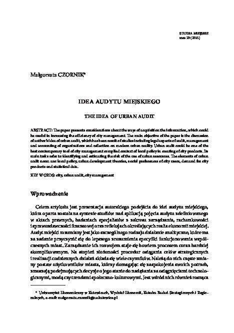 Audyt Finansowy Winiarska Pdf