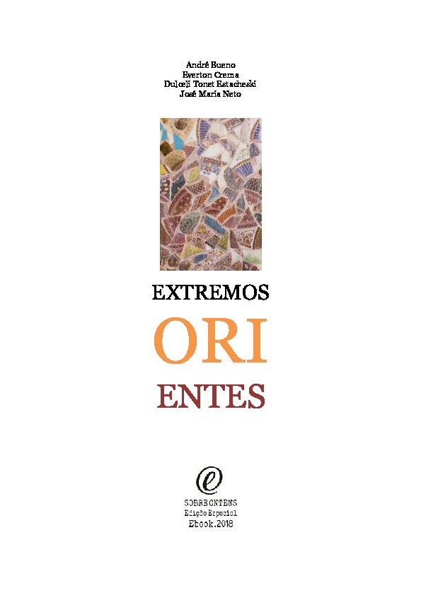 ad50a8442 PDF) Extremos Orientes | André Bueno, everton carlos crema, and ...